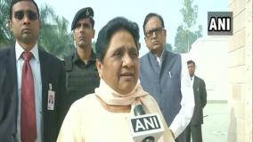 up-delhi-police-must-take-inspiration-from-hyderabad-police-says-mayawati-on-encounter