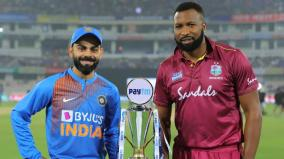 ind-wi-2nd-t20i-west-indies-choose-to-bowl-first