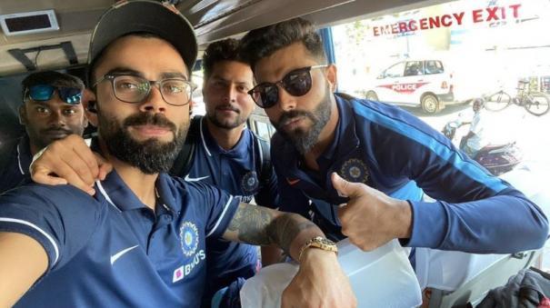 india-west-indies-team-reach-chennai-for-first-od