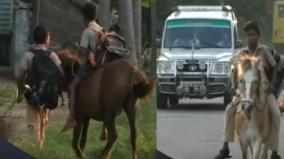 horse-travelling