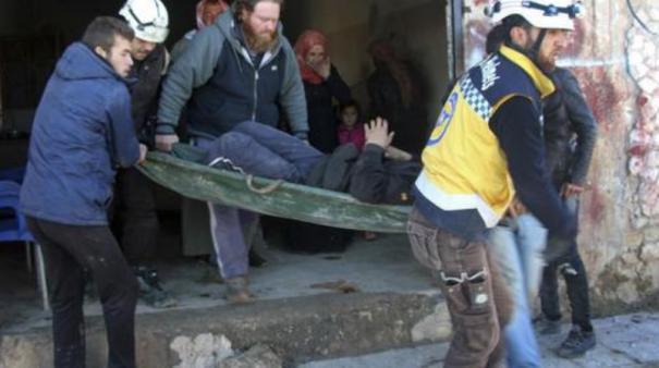 syria-22-civilians-killed-in-air-raids-in-idlib-province