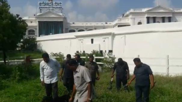 human-bomb-threat-bomb-test-at-the-secretariat-today