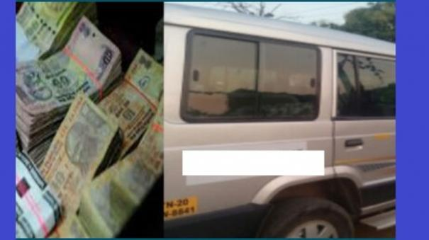 rs-52-lakhs-burglary-at-velachery-van-driver-escape-with-van-fake-agent-joins-work