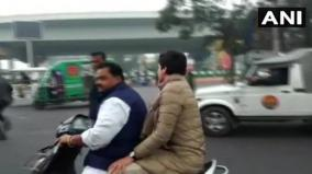 priyanka-takes-ride-on-scooty-owner-gets-traffic-ticket