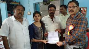 localbody-election-college-student-selected-as-panchayat-leader