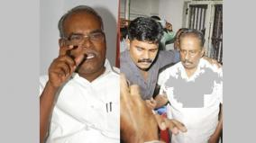nellai-kannan-arrested-one-justification-for-bjp-leaders-k-balakrishnan-condemned