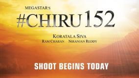chiru-152-shooting-begins