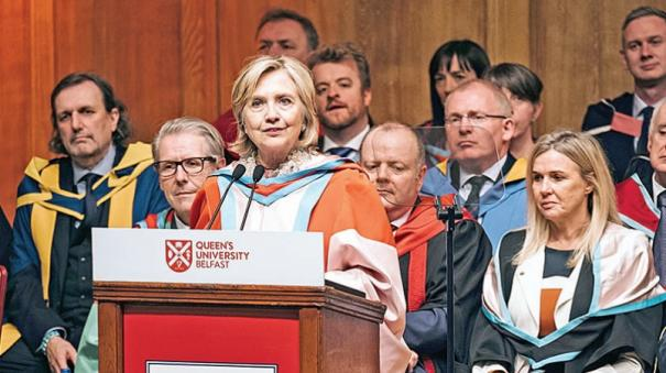 hillary-clinton-appointed-first-female-chancellor-of-uk-s-queen-s-university