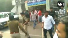 clash-between-abvp-and-nsui-worker