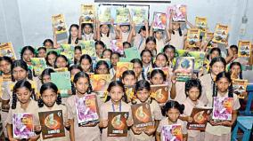 distribution-of-3rd-grade-text-books-to-students