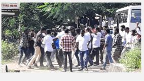 fight-between-rajinikanth-fans-in-villupuram