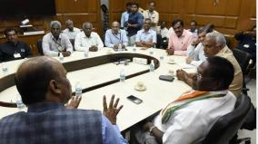 cauvery-water-disciplinary-committee-meeting-in-puducherry-water-supply-satisfaction