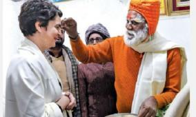 priyanka-gandhi-in-varanasi