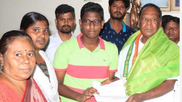 bal-shakti-puraskar-award-to-puducherry-student