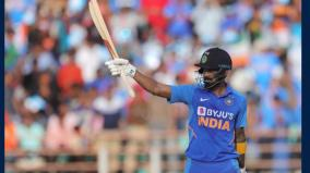 2nd-odi-vs-australia-dhawan-misses-ton-as-kohli-rahul-guide-india-to-340-6