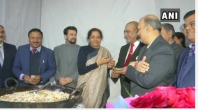 finance-minister-nirmala-sitharaman-at-halwa-ceremony