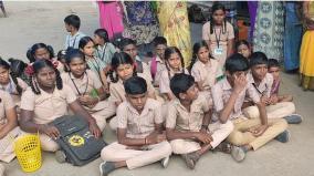 tiruparankundram-school-students-protest