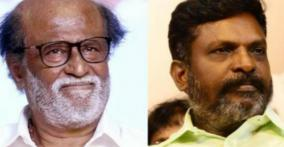 Thirumavalavan says Rajini to apologise for his comments on Periyar