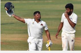 ranji-trophy-sarfaraz-khan-batted-through-illness-en-route-301