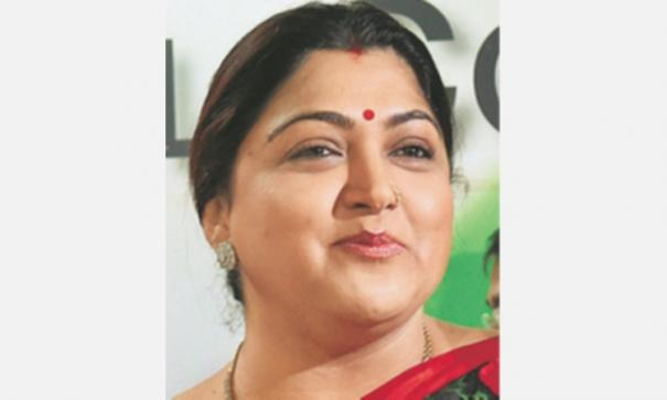 kushboo-condemns-protesters-against-rajini