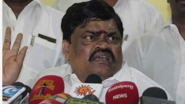 minister-rajendra-balaji-condemns-attack-on-pm-ravindranath-s-vehicle