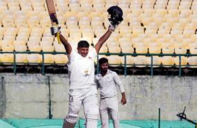 who-is-going-to-stop-sarfaraz-khan-after-triple-ton-today-dobule-century-for-mumbai-in-ranji-trophy