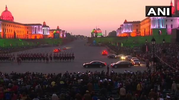tricolour-lighting-illuminates-north-and-south-blocks-at-raisina-hill-after-conclusion-of-beatingretreat