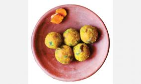 yellow-laddu