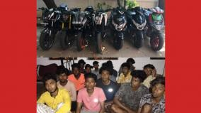 motor-bike-race-at-elliots-beach-seized-7-bikes-16-youths-arrested