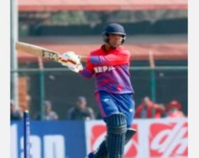 nepal-s-15-year-old-kaushal-malla-youngest-to-hit-odi-50