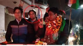 shots-fired-at-aap-candidate-naresh-yadav-s-open-car-after-delhi-election-win-volunteer-killed