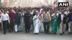 west-bengal-cm-mamata-banerjee-holds-protest-march-in-durgapur-against-citizenship-amendment-act