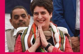 congress-mulling-to-send-priyanka-gandhi-to-rajya-sabha