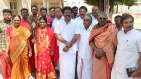 director-gowthaman-urges-to-conduct-pazhani-murugan-temple-kudamuzhukku-in-tamil