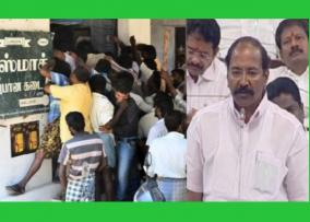 why-tasmac-sales-increases-people-drink-more-liquor-what-we-do-minister-thangamani-answer
