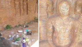 samanar-caves-needs-attention-in-uthamapalayam