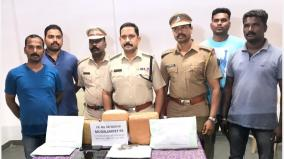seven-arrested-for-selling-ganja-in-puducherry-6-60-kg-of-cannabis-seized