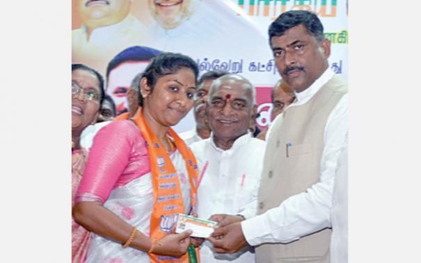 veerappan-daughter-joined-bjp