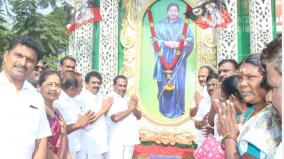 Jayalalitha birthday celebrated in Tutucorin
