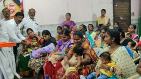 jayalalithaa-s-borthday-aiadmk-gives-gold-ring-for-babies
