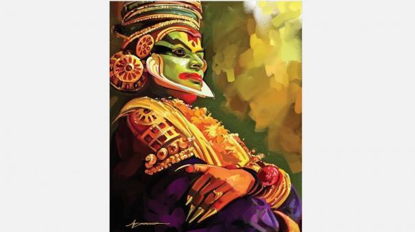 kathakali-artist