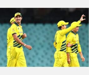 kiwis-surrenders-before-the-mighty-aussie-bowling-and-lost-their-first-odi-in-sydney