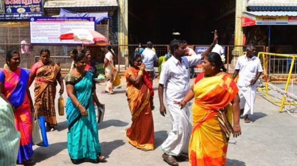 devotees-restricted-in-madurai-meenakshi-temple
