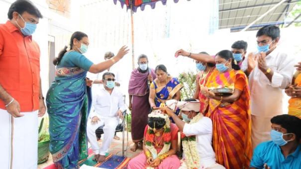 marriage-in-vijayakant-house
