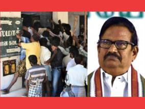 rs-220-crore-in-overnight-liquor-sale-tasmac-stores-are-a-spreading-tent-while-fighting-corona-k-s-azhagiri-worried