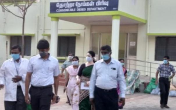 no-corona-for-3-admitted-in-kovilpatti-gh