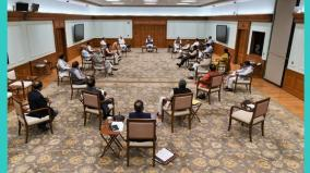 at-cabinet-meet-with-pm-modi-ministers-practice-social-distancing