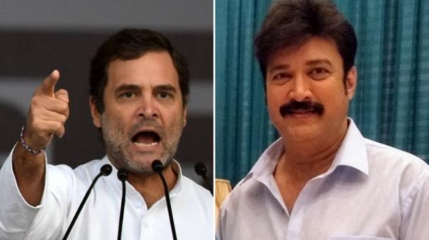 suresh-condemns-rahul-gandhi