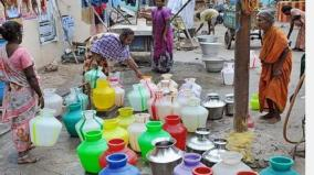 water-shortage-amidst-corona-scare-double-whammy-for-madurai-people