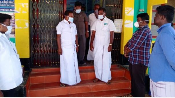 sivaganagai-minister-shocked-to-see-insect-in-kashayam